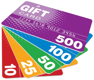 Gift Cards are Hugh Profit Centers